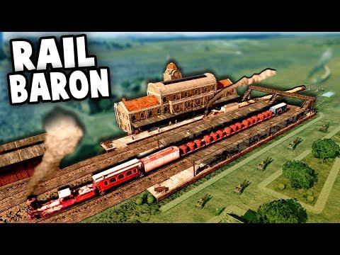 TRAIN EMPIRE!  Building the Trans Atlantic Railroad Across AMERICA (Railway Empire Ep 1 Gameplay)
