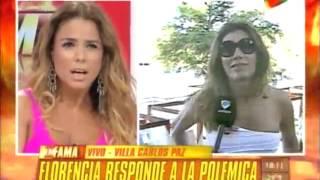Florencia de la V vs Marina Calabró