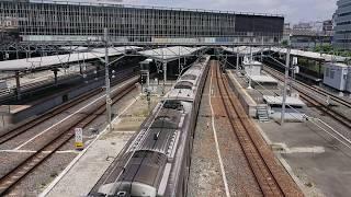 【223系新快速に207系普通が追いついた】JR新大阪駅へ入線の記録~新幹線~