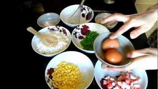 How to cook Chinese style stir fried egg rice. A easy way to make, only takes 10mins.