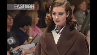 MAX MARA Fall Winter 1992 1993 Milan - Fashion Channel