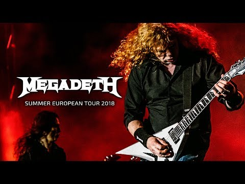 Megadeth - Summer European Tour 2018 Thumbnail image