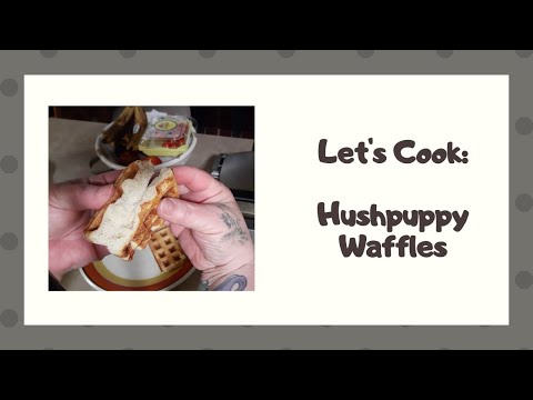 let's-cook:-hushpuppy-waffles-|-my-ww-blue,-purple,-green