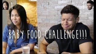 BABY FOOD CHALLENGE w/ DOMINIQUE