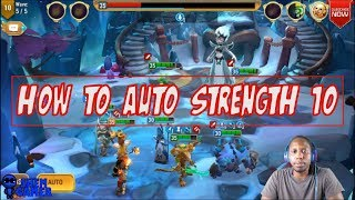 How To Auto Strength 10 - Might and Magic Elemental Guardians