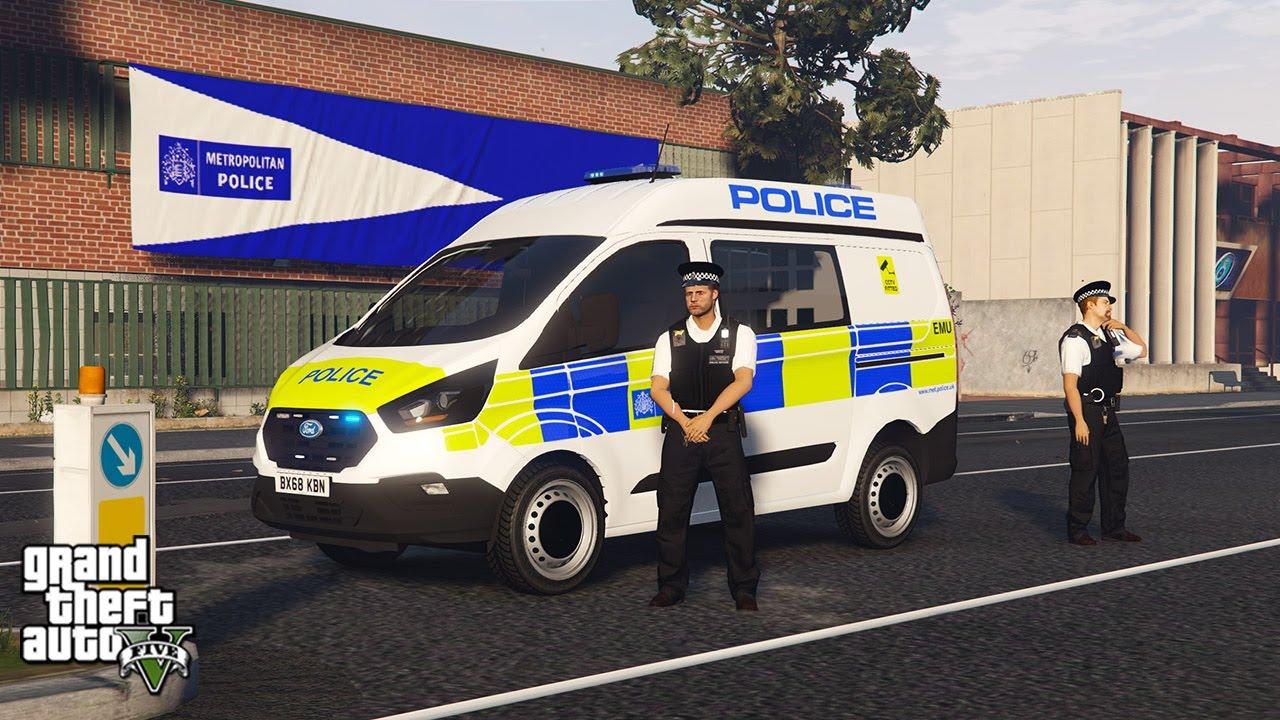 Met Police Van Patrol! (GTA 5 LSPDFR Mod #301)