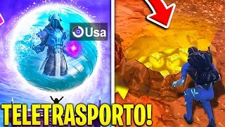 I'm TELEPORTED WITH THE VOLANTE SPHERE and here's WHAT there's DENTRO!! Fortnite Fortnite