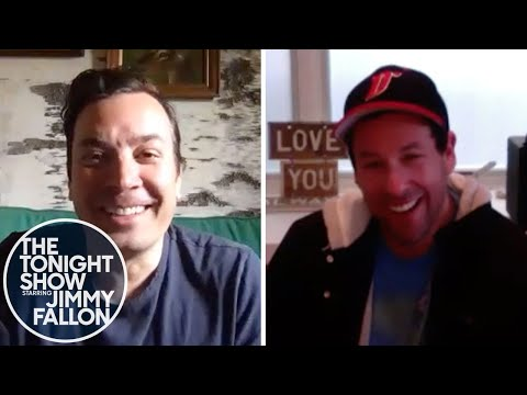 Adam Sandler Shares How He First Felt About Jimmy's SNL Impression