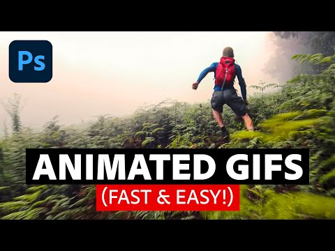 How To Make an Animated GIF in Photoshop (Fast & Easy!)