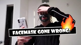 Facemask Gone Wrong  WK 371.4 Bratayley