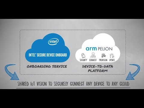 Intel and Arm IoT Provisioning Prototype