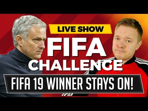 FIFA 19 GAMEPLAY MANCHESTER UNITED, REAL MADRID, BAYERN MUNICH
