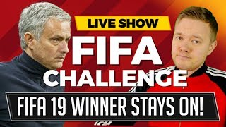 FIFA 19 GAMEPLAY MANCHESTER UNITED, REAL MADRID, BAYERN MUNICH