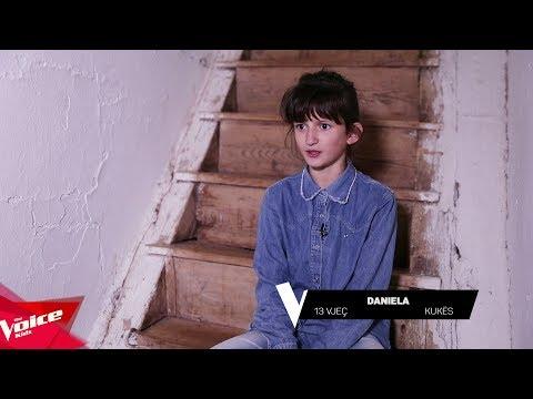 Danjela - Klip Prezantimi | Audicionet e Fshehura | The Voice Kids Albania 2018