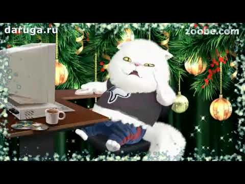 Прикольные поздравления с Новым годом новогодние видео пожелания с наступающим нг на новый год - Ржачные видео приколы