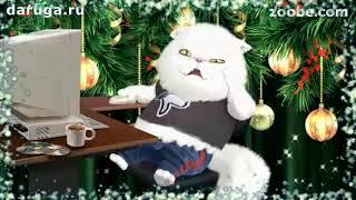 Прикольные поздравления с Новым годом новогодние видео пожелания с наступающим нг на новый год