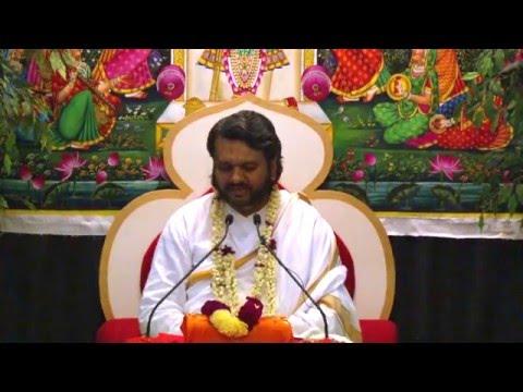 Gopi Geet By Shri Dwarkeshlalji Mahoday (Kadi, Ahemdabad), Fairfax, VA, Day 1