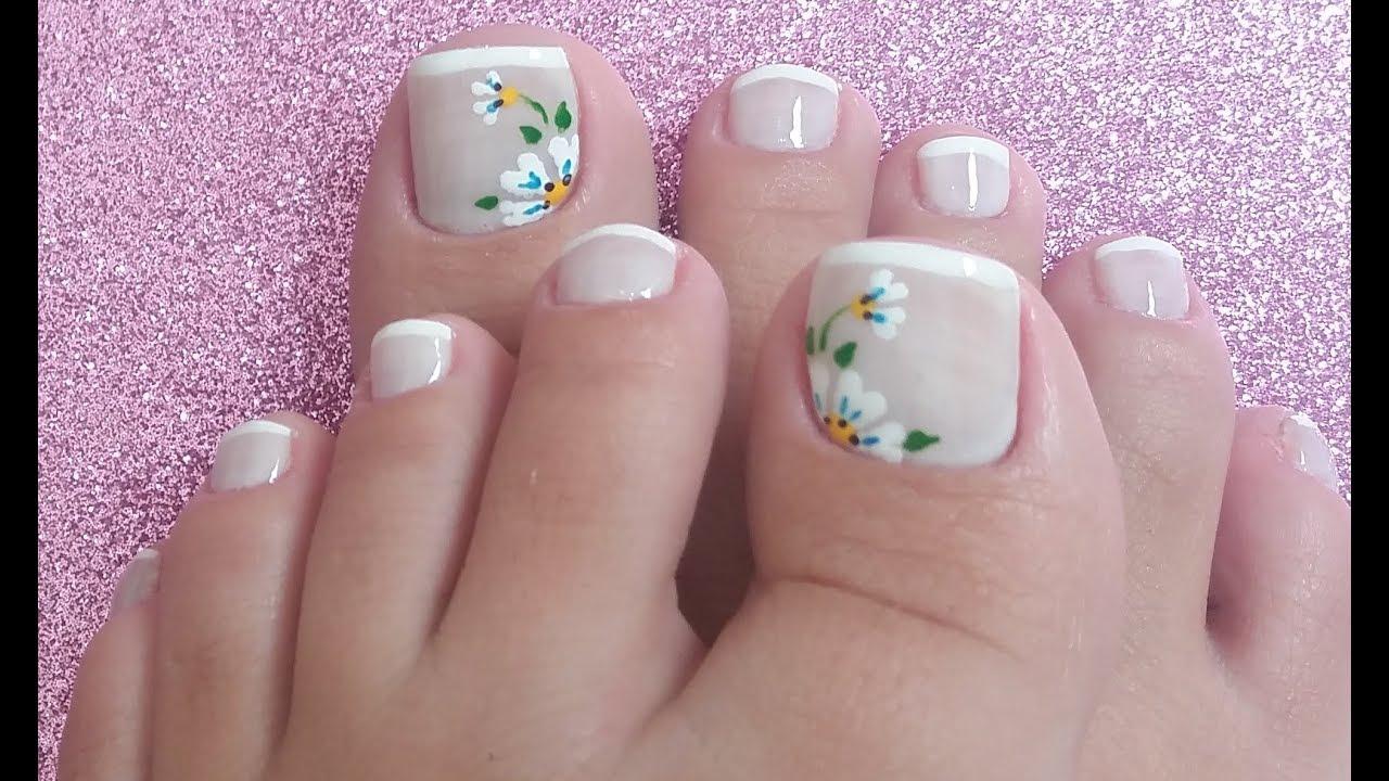 unhas decoradas Lindas branco