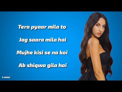 Ek Toh Kum Zindagani (Lyrics) - Neha Kakkar | Yash Narvekar | Tanishk Bagchi | New Song 2019