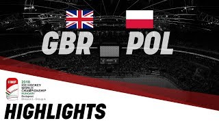 Great Britain-Poland | Highlights | 2018 IIHF Ice Hockey World Championship Division I Group A