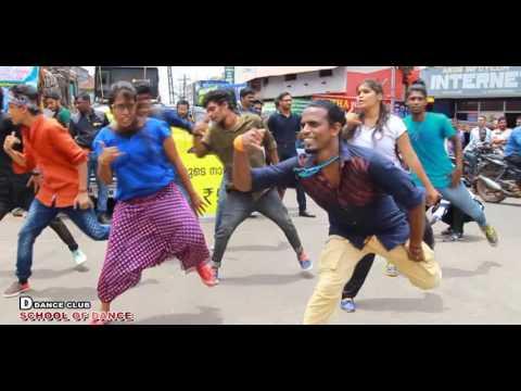 Flash mob @ idea 4G SIM Launching @ kollam paravoor