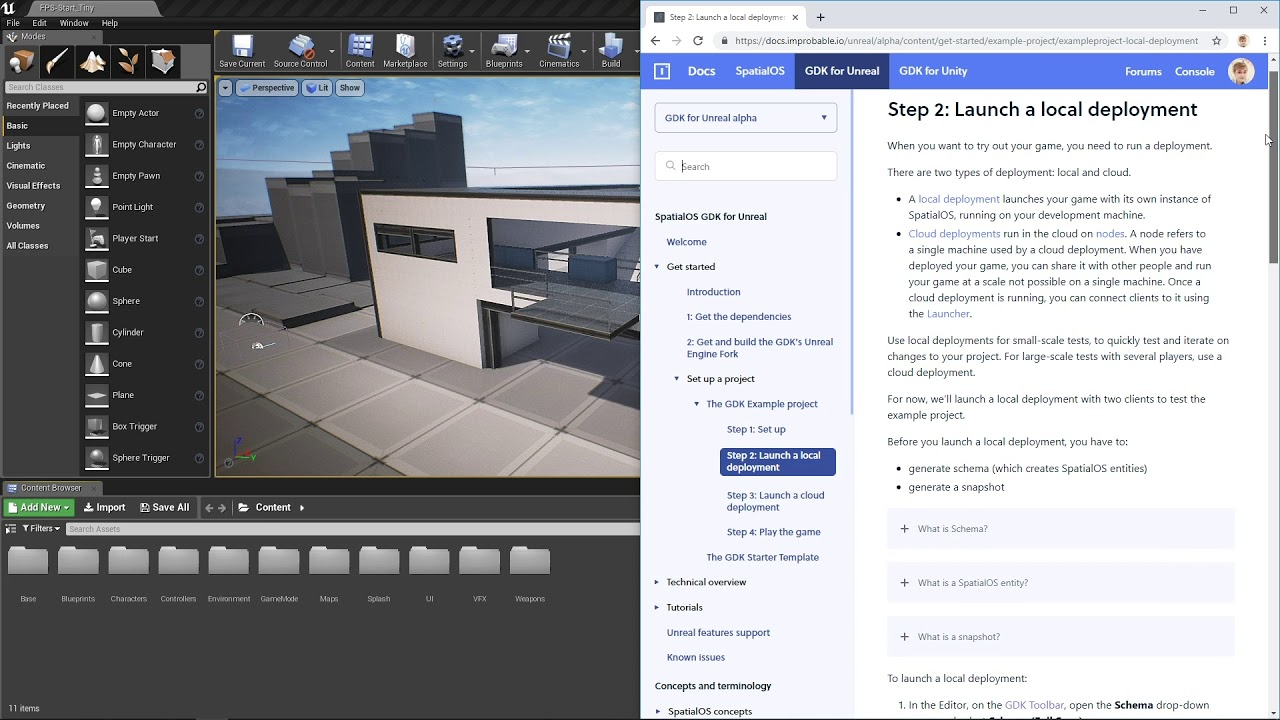 Tutorial | Get started with SpatialOS for Unreal | Part 3