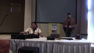 Indigenous Comic Con 2017 - Isleta Resort & Casino |  Snake Blocker and Alan Tafoya Clip 2