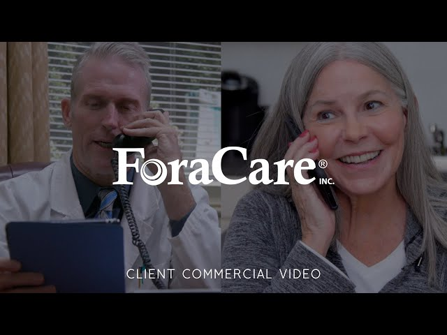 ForaCare 24-7 Remote Monitoring Commercial Video - Made by Envy Creative