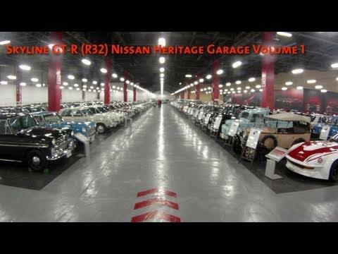 Skyline GT R (R32) Nissan Heritage Garage Volume 1   YouTube