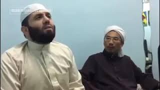 Maasyaallah...!!!  Nada Asli Adzan Bilal Bin Rabbah Yang Menggetarkan Jiwa.