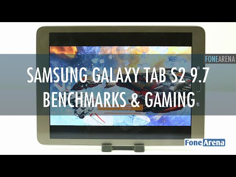 Samsung Galaxy Tab S2 9.7 Benchmarks and Gaming Review