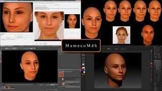 FaceGen Modeller  Cinema 4d ZBrush Poser 1 de 2
