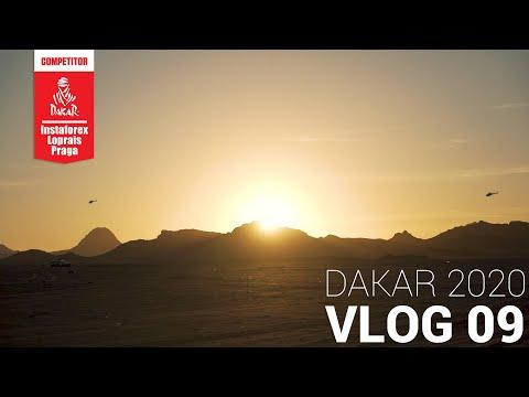 InstaForex Loprais Team DAKAR 2020   Stage 5 - VLOG 09