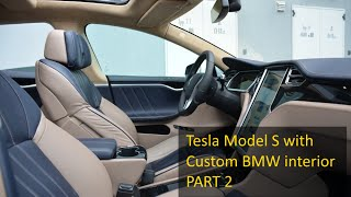 Tesla Model S - Custom BMW interior for $30K - PART 2 owner's interview by Moscow Tesla Club(Русская версия видео здесь: https://youtu.be/mvdppy00uJ8 Order your Tesla using our link now and get a nice bonus: http://ts.la/aliaksei4711 We've had a chat ..., 2015-12-04T10:46:06.000Z)