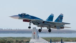 Sukhoi Su-33 Russian Navy on Aircraft Carrier
