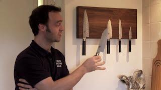 Magnetic Wooden Knife Racks From Makemesomethingspecial.co.uk