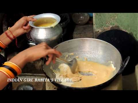 INDIAN DAILY DINNER HINDI ROUTINE ,SWEET RECIPE  2018 HALWA RECIPE