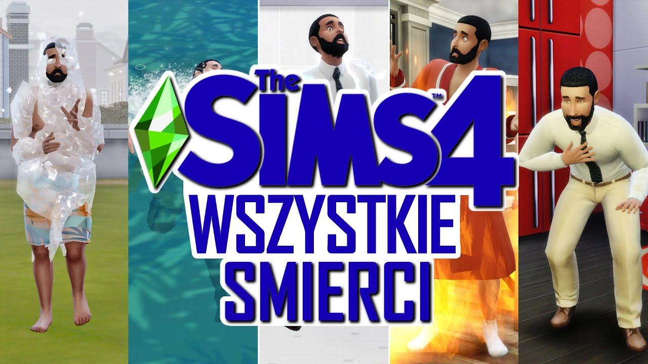 THE SIMS 4 WSZYSTKIE 25 ŚMIERCI ft. Bob Pancakes   (WRZESIEŃ 2019)   KOSmo