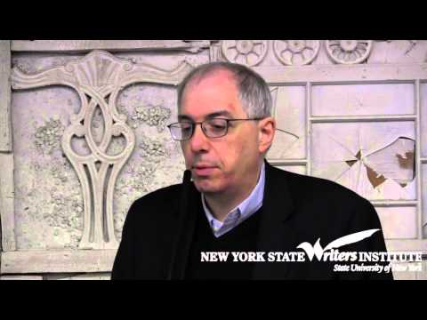 Steven Levy at the NYS Writers Institute in 2012