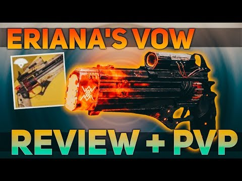 Eriana's Vow PVP & PVE Review + Shadowkeep's Crucible (Shadowkeep's Sandbox) | Destiny 2 Shadowkeep