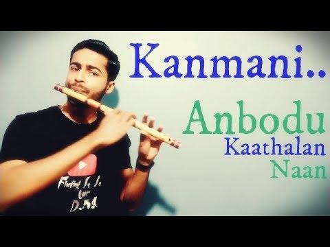 Kanmani anbodu kadhalan | Flute cover | | D middle | Tamil song | Kamal Hassan | Guna