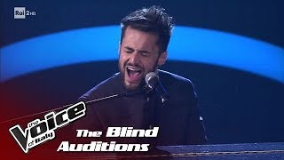 "Antonello Carozza ""Neutron Star Collision"" - Blind Auditions #2 - The Voice of Italy 2018"