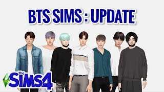 THE SIMS 4 | CAS - BTS [Updated] + Download links
