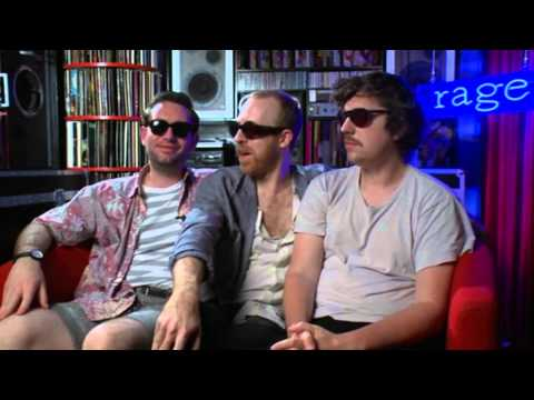 Hot Chip talk about The Chemical Brothers on rage.