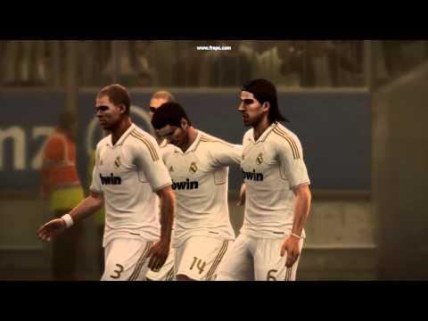 PES 2012- Khedira Amazing Goal vs Barcelona
