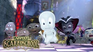 Monster Mash | Casper's Scare School | 1 Hour Compilation | Cartoons for Kids