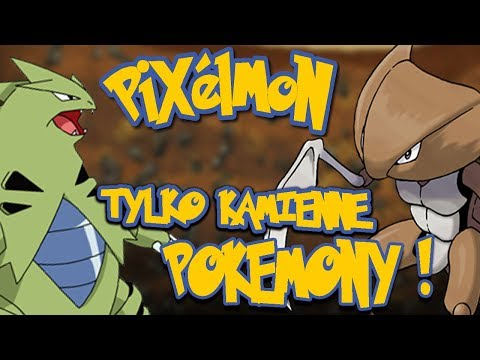😈SAM E KAMIENNE POKEMONY! - PIXELMON LUCKYBLOCK PO POLSKU /Hunter😈