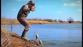 Не рыбалка, а сказка. ВЕСЕННИЙ ЖОР. Опять повезло на новом месте.