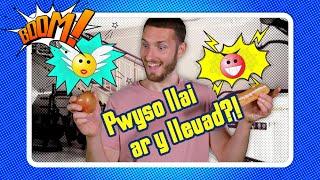 Ydy pethau'n pwyso llai ar y Lleuad?! | Do things weigh less on the Moon?! Welsh science