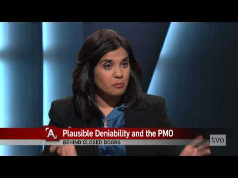 Nelson Wiseman: Plausible Deniability and the PMO